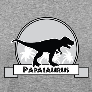 Papasaurus - Men's Premium T-Shirt