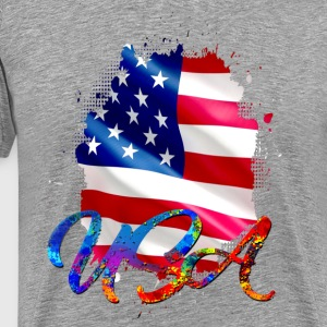 USA - USA - Men's Premium T-Shirt