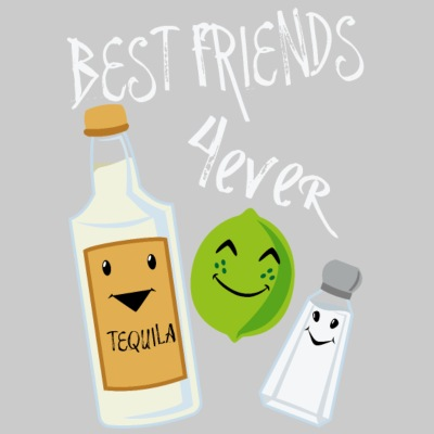 Best Friends Forever Tequila Lime Salt Humour