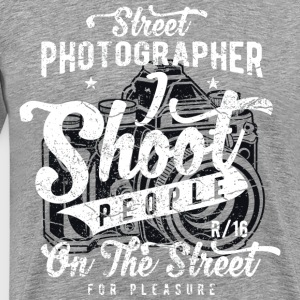 Sreet Photographer - Men's Premium T-Shirt