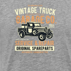 Vintage Truck. For fans of classic trucks. - Men's Premium T-Shirt