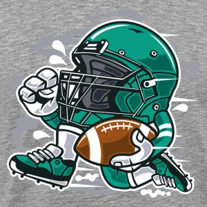 Football Player - Men's Premium T-Shirt