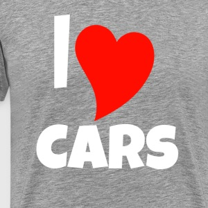 Love cars gift - Men's Premium T-Shirt