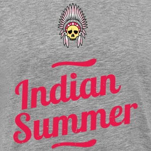 Indian Summer - Herre premium T-shirt
