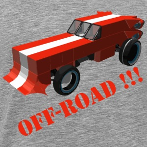 Off Road fan - Herre premium T-shirt