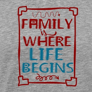 Famille - My Life - T-shirt Premium Homme