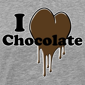 i_love_chocolate - Premium-T-shirt herr