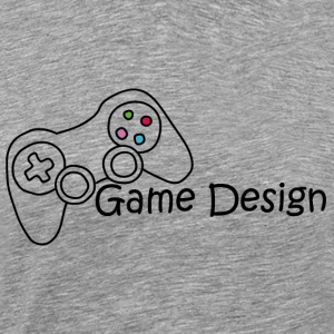 Game Design - Herre premium T-shirt