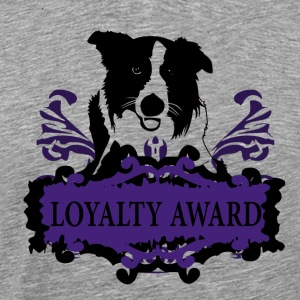 Loyalty Award - Dog Love - Men's Premium T-Shirt
