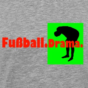 Football Drama - Premium T-skjorte for menn