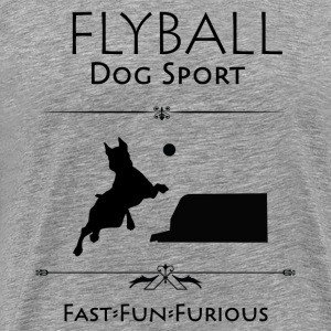 Flyball Fast Fun Furious - Men's Premium T-Shirt