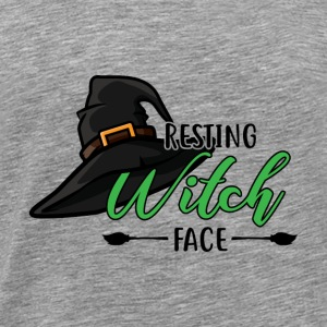 Halloween Resting Witch Face - Men's Premium T-Shirt