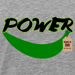 Banana Power Made in DR - T-shirt Premium Homme