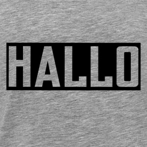 HALLI HALLO PARTNERLOOK FRIENDSHIP GIRLFRIEND - Men's Premium T-Shirt