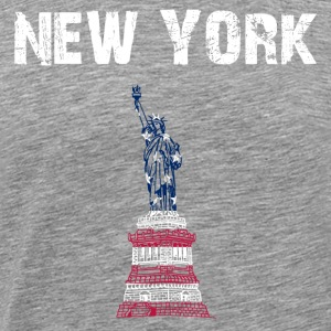 Staden Design New York Liberty - Premium-T-shirt herr