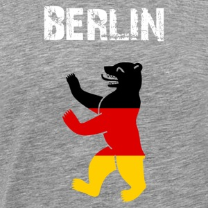 City-Design Berlin Bear - Men's Premium T-Shirt