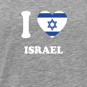 i love home gift country ISRAEL - Men's Premium T-Shirt