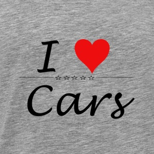 I Love Cars - Männer Premium T-Shirt