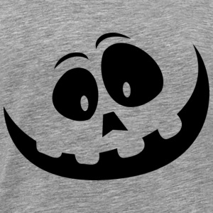 Horror Smiley - Herre premium T-shirt