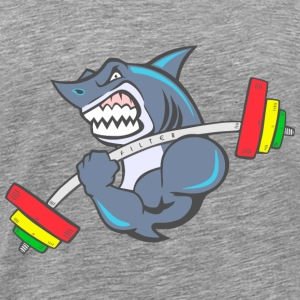Shark-Kreuz-fit - Männer Premium T-Shirt
