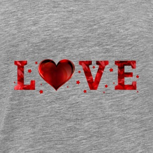 Love Valentines Day - Men's Premium T-Shirt