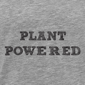 plant pawered - Men's Premium T-Shirt