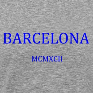 BARCELONA 1992 b1 - Men's Premium T-Shirt