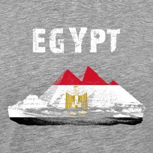 Nation-Design Egypten Giza - Premium-T-shirt herr