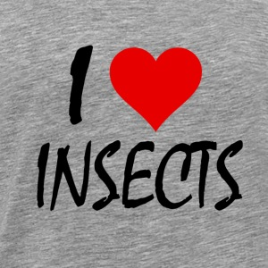 I LOVE INSECTS - Männer Premium T-Shirt