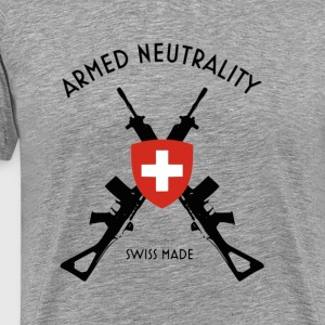 armed neutrality swiss made - Men's Premium T-Shirt