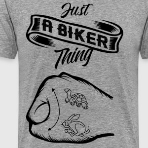 Just a Biker thing! - Männer Premium T-Shirt