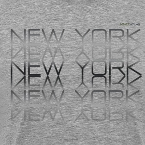 Plass Atlas Tee New York New York - Premium T-skjorte for menn