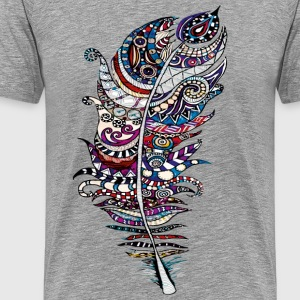 Feather For Heather - Herre premium T-shirt