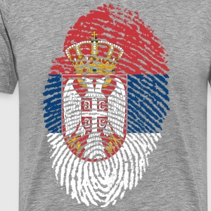SERBIA 4 EVER COLLECTION - Premium T-skjorte for menn