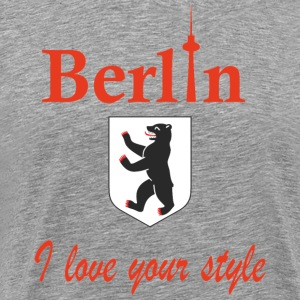 Berlin I love you - Mannen Premium T-shirt