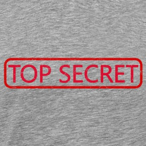 Top Secret 2 - Herre premium T-shirt