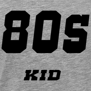 80s kid - Men's Premium T-Shirt