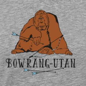 Bowrang-Utan (BOWTIQUE monkey band No.1) - Men's Premium T-Shirt