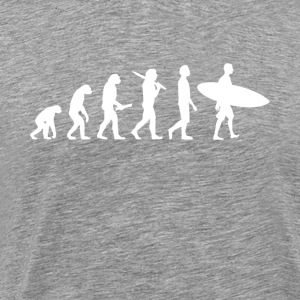 Surfer Surf Evolution - T-shirt Premium Homme