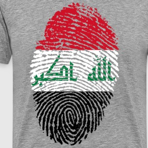 IRAQ FINGERABPRESSION - Men's Premium T-Shirt