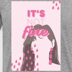 taeyeon - it's not fine ver. 1 - Männer Premium T-Shirt