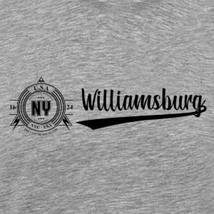 New York City · Williamsburg - Miesten premium t-paita