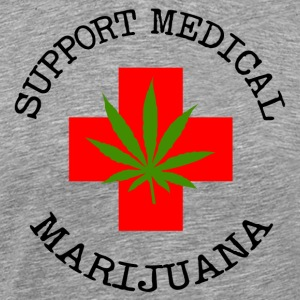 Medical Marijuana Support Legalize It - Men's Premium T-Shirt