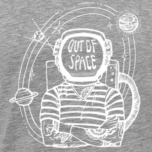 Out of Space - White - Mannen Premium T-shirt