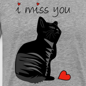 I MISS YOU - Mannen Premium T-shirt