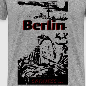 Berlin sadness - Men's Premium T-Shirt