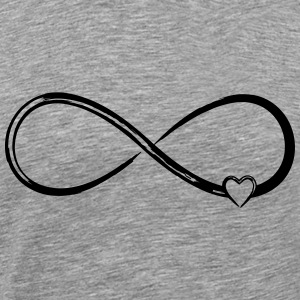 Infinity heart - Men's Premium T-Shirt