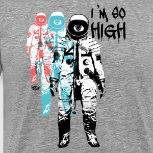 High Cosmonaut Flight Travel Trip - Men's Premium T-Shirt