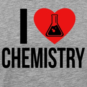 I LOVE CHEMISTRY * IDEAL GIFT * - Men's Premium T-Shirt