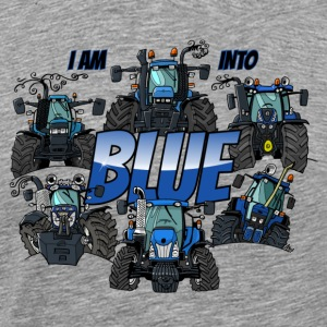i am into blue - Men's Premium T-Shirt